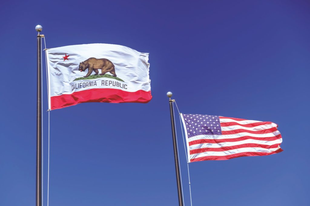 US CA flag_